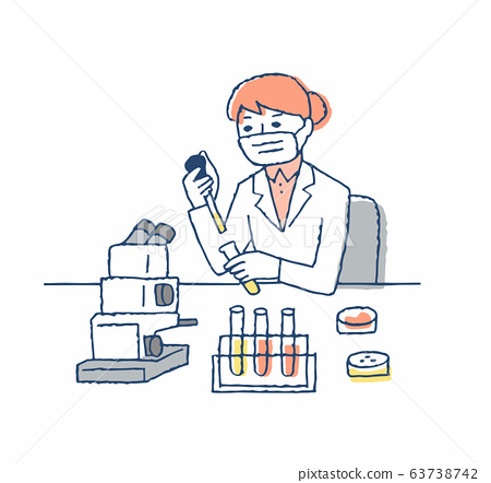 연구실 임상 검사 여성 63738742