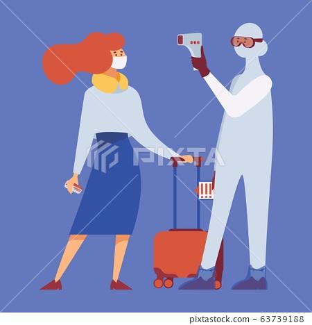 Airport temperature control coronavirus. Disease 63739188