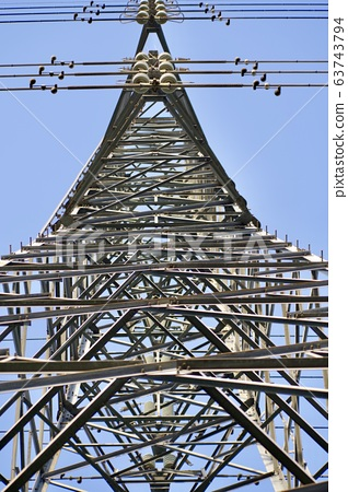 Steel tower 63743794