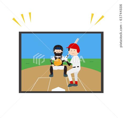 在電視上看棒球 63744886