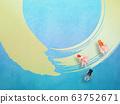 Swimming goldfish 63752671