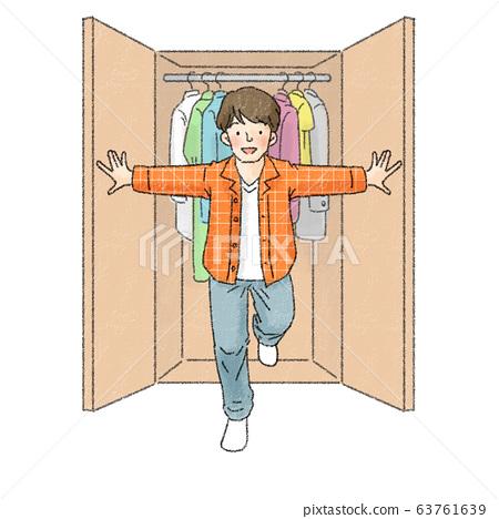 LGBTQ Men Closet 63761639