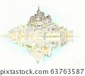 World Heritage Cityscape, France, Mont Saint Michel 63763587