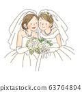 婚禮,同性,女 63764894