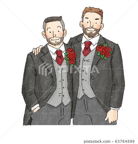 舞會,同性,男性 63764899