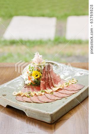 고급 한식 요리 63769828