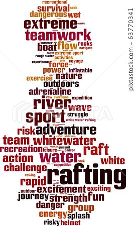 Rafting word cloud 63770341