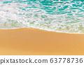 Golden Sand Beach Background 63778736