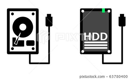 硬盤驅動器 illustration 數字動畫 63780400