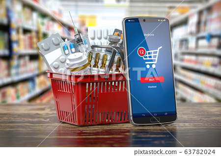 Mobile service or app for purchasing  medicines in 63782024