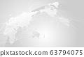 白色全球網絡網絡通信IT圖像背景 63794075