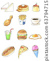 Food (fast food) that children may like 63794715