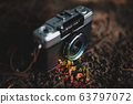 Half-camera that shines in rainbow colors 63797072