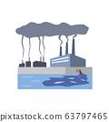 โรงงาน, พืช, ควัน, มลพิษ, มลพิษทางทะเล, มลพิษ, มลภาวะต่อสิ่งแวดล้อม, ปัญหาสิ่งแวดล้อม 63797465