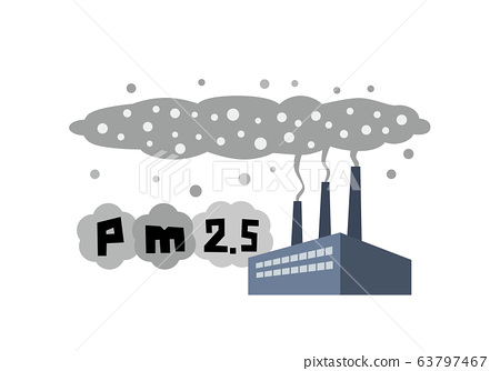 Factory, plant, air pollution, PM2.5, smoke, pollution, pollutants, environmental pollution, environmental problems 63797467