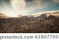 Mountain Landscape in High Altitude 63807700