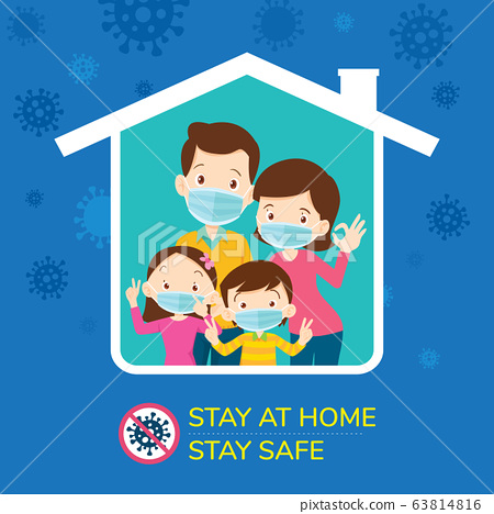 stay at home stay safe,Corona virus ,covid-19 63814816