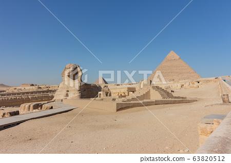 埃及開羅金字塔 63820512