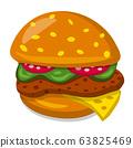 hamburger sandwich 63825469