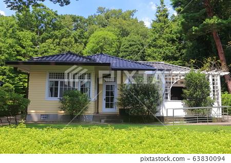 에도 도쿄 건물 정원의 대천 저택 63830094
