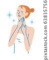 脖子护理女人图 63835756