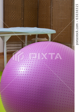 spiky rubber ball and roller bar for self massage, 63838315