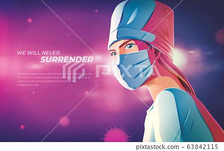 We will never surrender 63842115