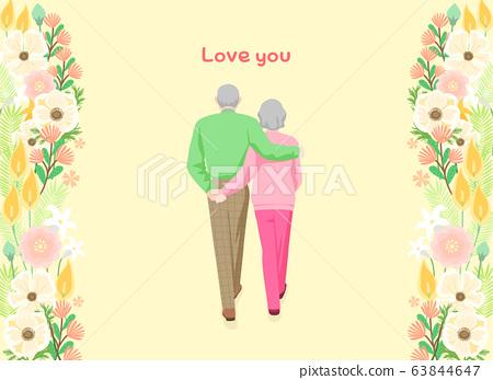 Love and appreciation concept, Happy Loving event illustration 006 63844647