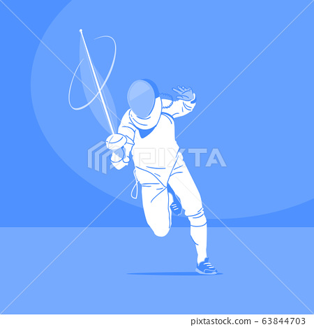 Sports Athletes silhouette illustration 046 63844703