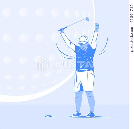 Sports Athletes silhouette illustration 042 63844710