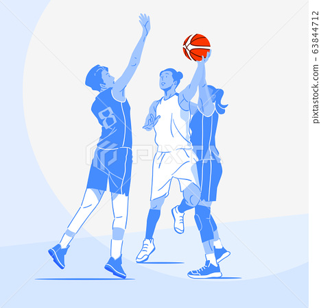 Sports Athletes silhouette illustration 026 63844712