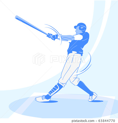 Sports Athletes silhouette illustration 004 63844770