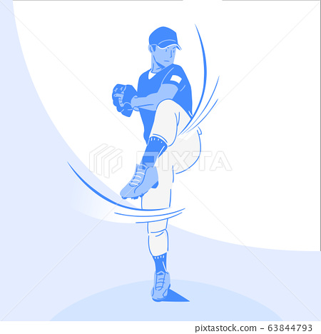 Sports Athletes silhouette illustration 001 63844793