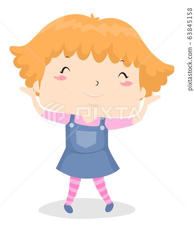 Short Hair Kid Girl 63845158
