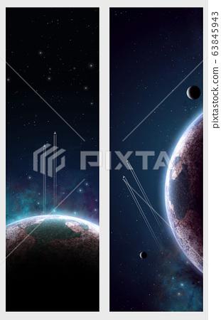 deep space banners 63845943
