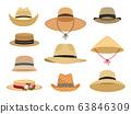 Farmers gardening hats 63846309