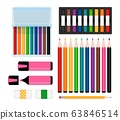 Art tools collection 63846514