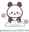 手洗熊猫和木耳 63857748