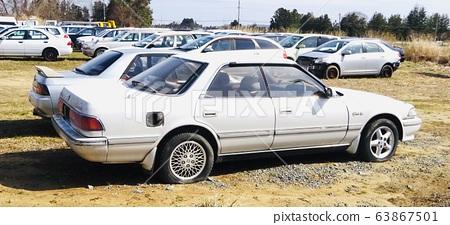 Scrapped car 63867501