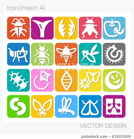 昆蟲4矢量設計 63882009