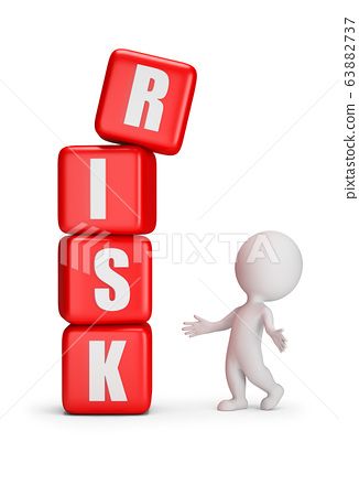 3d small people - risk 63882737