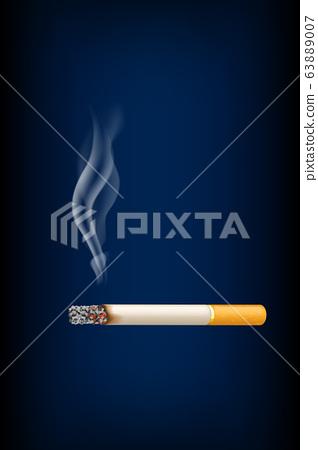 smoking cigarette 63889007