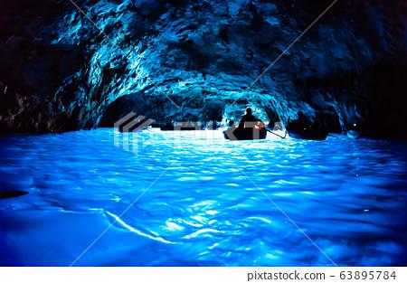 푸른 동굴 이탈리아 카프리 섬 63895784
