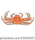 Sumi-e crab 63900307