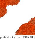康乃馨框架(橙色) 63907383