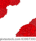 康乃馨框架(紅色) 63907393