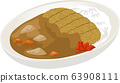 Image illustration of cutlet curry 63908111