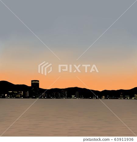 琵琶湖 63911936