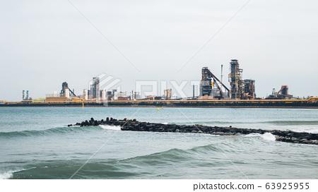 Pohang steel company Industrial factory in Korea 63925955