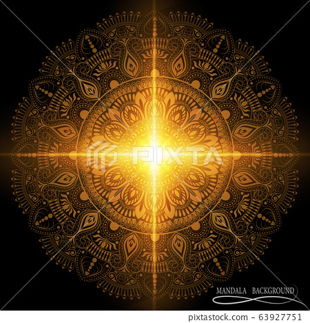Mandala pattern design 63927751
